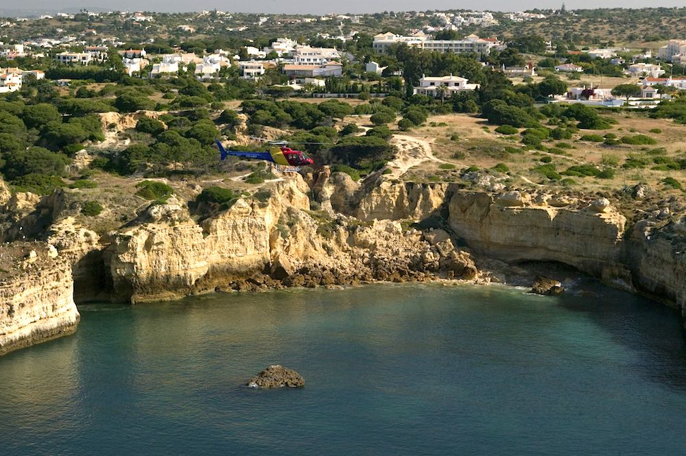 Algarve Helicopters, Cliffs