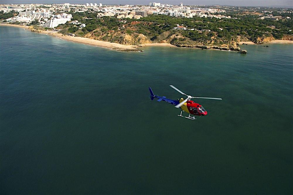 Algarve Helicopters Beach Ocean