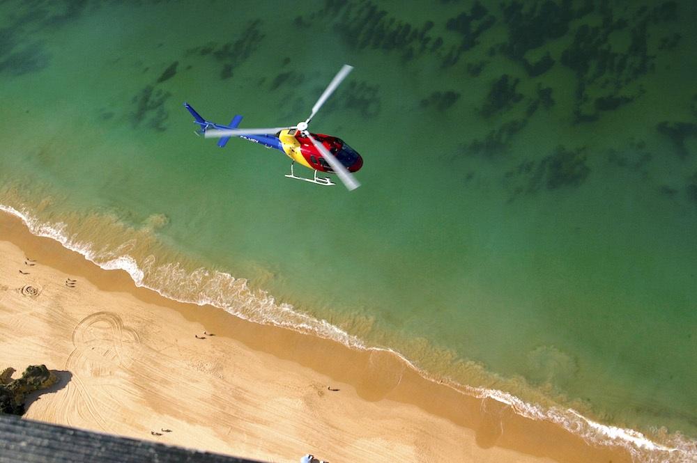 Algarve Helicopters Beach Water